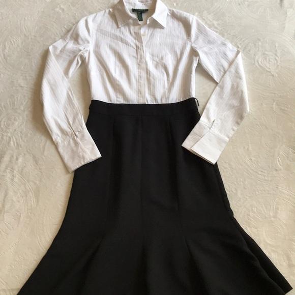 Ralph Lauren Dresses & Skirts - Ralph Lauren white/ black dress super cute sz 2
